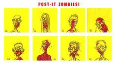 All things zombie, gruesome