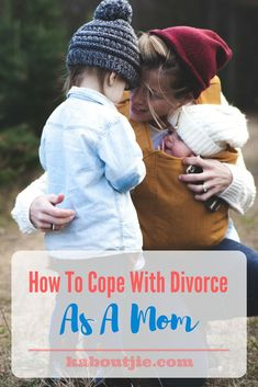 How To Cope With Divorce As A Mom    Divorce is tragic and traumatic for any married couple to have to face, but if you add children into the mix it makes it even harder - both for each partner to cope but also to make sure that the children are not negatively affected. Here's how to cope with divorce as a mom.    #guestpost #divorce #copewithdivorce
