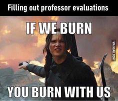 Professor evals