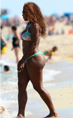 New Serena Williams | PHOTOS: Serena Williams Shows Off Womanly Curves In Tiny Bikini In ...