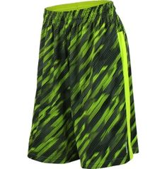 Equip him with gear designed to provide ultimate performance comfort with the Reebok® Boys' Printed Vector Shorts. Crafted from lightweight performance PlayDry® fabric, these shorts feature accelerated dry times, enhanced breathability and ventilation. An allover print complements contrast side panels to deliver vibrant, athletic style. An elastic waistband with an internal drawcord provides a secure, customizable fit.