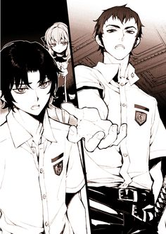Shinoa, Guren and Kureto