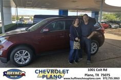https://flic.kr/p/U9hwYZ   Happy Anniversary to Valerie on your #Chevrolet #Equinox from Bryce Bessler at Huffines Chevrolet Plano   deliverymaxx.com/DealerReviews.aspx?DealerCode=NMCL