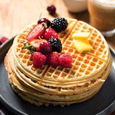 Sweet French toast waffles - MyKitchen