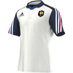 France Alternate Rugby Shirt S/S 2014 - Front