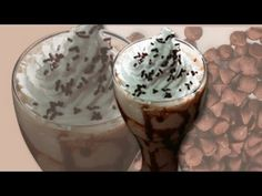 Chocolate Milkshake Recipe  Spoil yourself with this yummy chocolate milkshake. Very easy to make. I am sure the kids will love it. Chocolate ice cream, chocolate candy bar pieces, and whipping cream make this extra creamy milkshake a chocolate lover's dream.