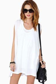 t-shirt dress (cut-out back)