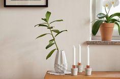 DIY/WEIHNACHTEN: Ein Adventkranz aus Beton mit Kupfer-Muffen oder ein Kerzenständer mit Zusatznutzen