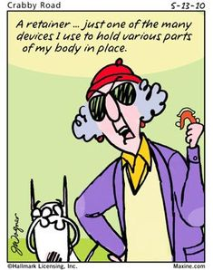 Gotta love Maxine...lol!! Funny Cartoons, Funny Comics, Cancer Humor, Cancer Quotes, Senior Humor, Funny Quotes, Funny Memes, Hilarious, Fun Funny