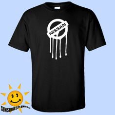 Nissan Drip On Mens Black T Shirt S-5XL JDM 240sx 370z 350z Nismo Cube 300zx 350