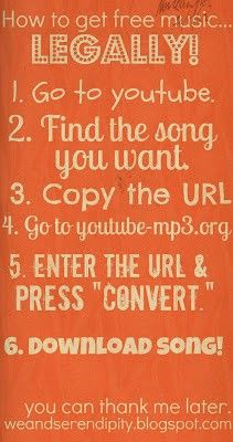 how to download music for free!!!