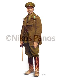 Esercito Greco - Cavalry Lieutenant in winter service dress with short coat issued to regular officers - Nikos Panos on Behance Hellenic Army, Greek Independence, War Of Attrition, Army Uniform, Military Uniforms, Thing 1, Military History, World War Two, Troops