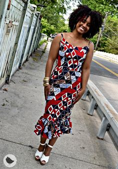 A little flounce never hurt nobody! [Sew What? Series DIY Dress Butterick 6453]