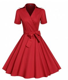 """Dress in the """"Swing"""" era with this dress! Comes in different colors! Shop Now!"""