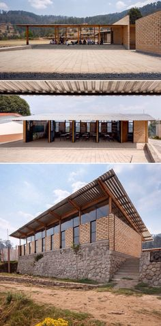 School for El Coporito / Antonio Peña + Juan Garay + Alexis Ávila Tropical Architecture, Architecture Details, Interior Architecture, Education Architecture, School Architecture, Sustainable Schools, Outdoor Learning Spaces, Casamance, Bamboo House