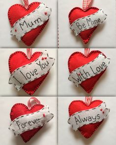 Personalised hearts (14)