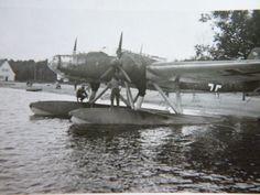 TOP-Foto-Flugzeug-Wehrmacht-Luftwaffe-Wasserflugzeug-100-Original