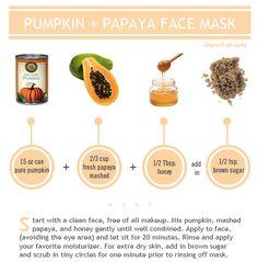 pumkin-papaya-face-mask
