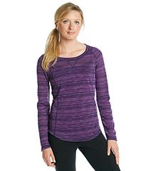 Product: Exertek® Petites' Long Sleeve Space Dye Top Space, Long Sleeve, Sleeves, Sweaters, Tops, Women, Fashion, Floor Space, Moda