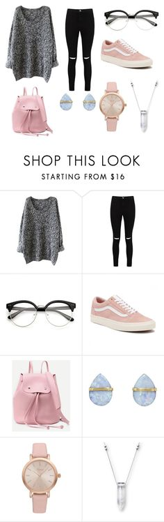 """""""Untitled #159"""" by starlord221b on Polyvore featuring Boohoo, Vans, Melissa Joy Manning and Vivani"""