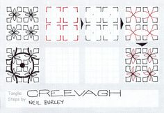 Creevagh - tangle pattern
