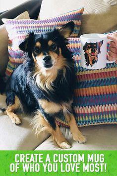 556e97d4e5d6 Create a 100% hand drawn custom mug of your pet! Each item sold helps