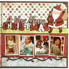 25+ best Christmas Scrapbook Layouts ideas on Pinterest | Christmas scrapbook, Scrapbook layouts ...