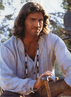 "Joe Lando as: Byron Sully from the famous 90's TV Show ""Dr. Quinn Medicine Woman."""