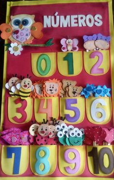 Patterns and counting activities (sea life theme) Counting Activities, Kids Learning Activities, Alphabet Activities, Nursery Class Decoration, Board Decoration, Preschool Classroom Decor, Preschool Crafts, Crafts For Kids, Monkey Crafts