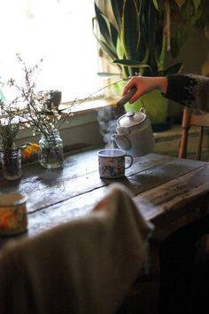 Homemade Tea, Tea And Books, Barn Living, Slow Living, Hygge, Afternoon Tea, Tea Time, Tea Party, Tea Cups