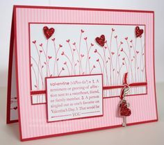 stampin up valentine defined - Google Search