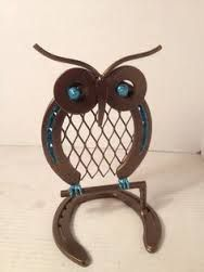 owl made out of horseshoes - Google Search