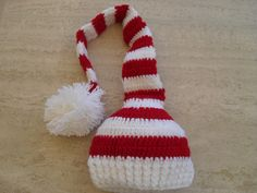 Baby Santa/Elf Hat Available Now In My Etsy Shop MarilynsCreation