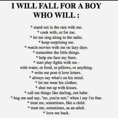 Every girl wants a guy who