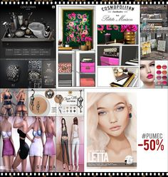 """TIME FOR  HELLO TUESDAY! JUST ONE DAY FOR 50L$ AND 50% OFF SALE DEALS! Find all info and direct SLurls @ http://cosmopolitansl.blogspot.com/2018/07/hello-tuesday-221-store-list-for-10th.html """"Hello Tuesday is weekly discount event with Cosmo stores, direct SLurls to every item you can find next to each vendor picture."""" Enjoy!"""
