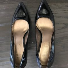 Leather High Heels, Patent Leather, Christian Louboutin, Toe, Pumps, Things To Sell, Black, Products, Fashion