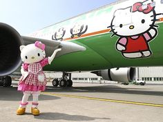 Hello Kitty Airplane!!! <3