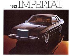 1983 Chrysler Imperial, slowest car for 1983