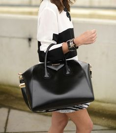 Luxury Street Chic + Givenchy bag. ::M::