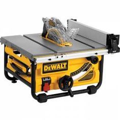 "DeWalt 10"" Compact Table Saw"