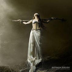 Dark Art Photography, Emotional Photography, Sleeping Sun, Kai, Sound & Vision, Gothic Art, Fine Art, Fantastic Art, Photo Manipulation
