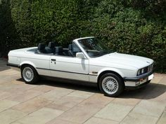 BMW 325i convertible. Although I am not a fan of soft top convertibles...