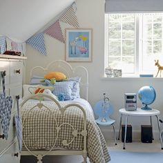 Kinderzimmer Wohnideen Möbel Dekoration Decoration Living Idea Interiors home nursery - Rosa und blau Kinderzimmer