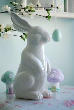 Easter bunny Bunny Tail, Bunny Rabbit, Jelly Beans, Easter Bunny, Garden Sculpture, Outdoor Decor, Blog, Fun, Inspiration