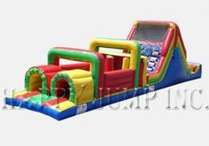 Inflatable Interactive Games: Obstacle Course 1 - IG5111