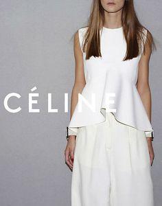 """ Celine summer 2012 ad campaign by Juergen Teller "" Fashion Mode, Look Fashion, Paris Fashion, Fashion Design, Fashion Trends, Fashion Shoot, Kids Fashion, Celine, Peplum Dress"
