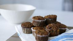 Gluten-Free Banana Apple Walnut Muffins Videos | Food and Cooking How to's and ideas | Martha Stewart