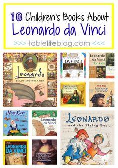 10 Children's Books About Leonardo da Vinci - TableLifeBlog