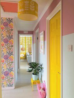 Yellow Interior, Home Decor Inspiration, House Colors, Home And Living, Living Room Decor, Diy Home Decor, Interior Decorating, Decoration, Blair House