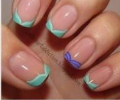 Little mermaids nails